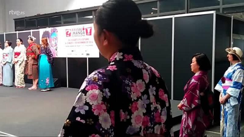 Kimonos en el Salón del Manga