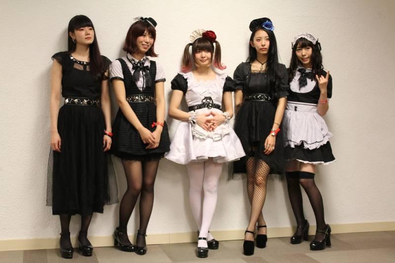 El gran escenario del Salón del Manga vibra con 'Band-Maid'