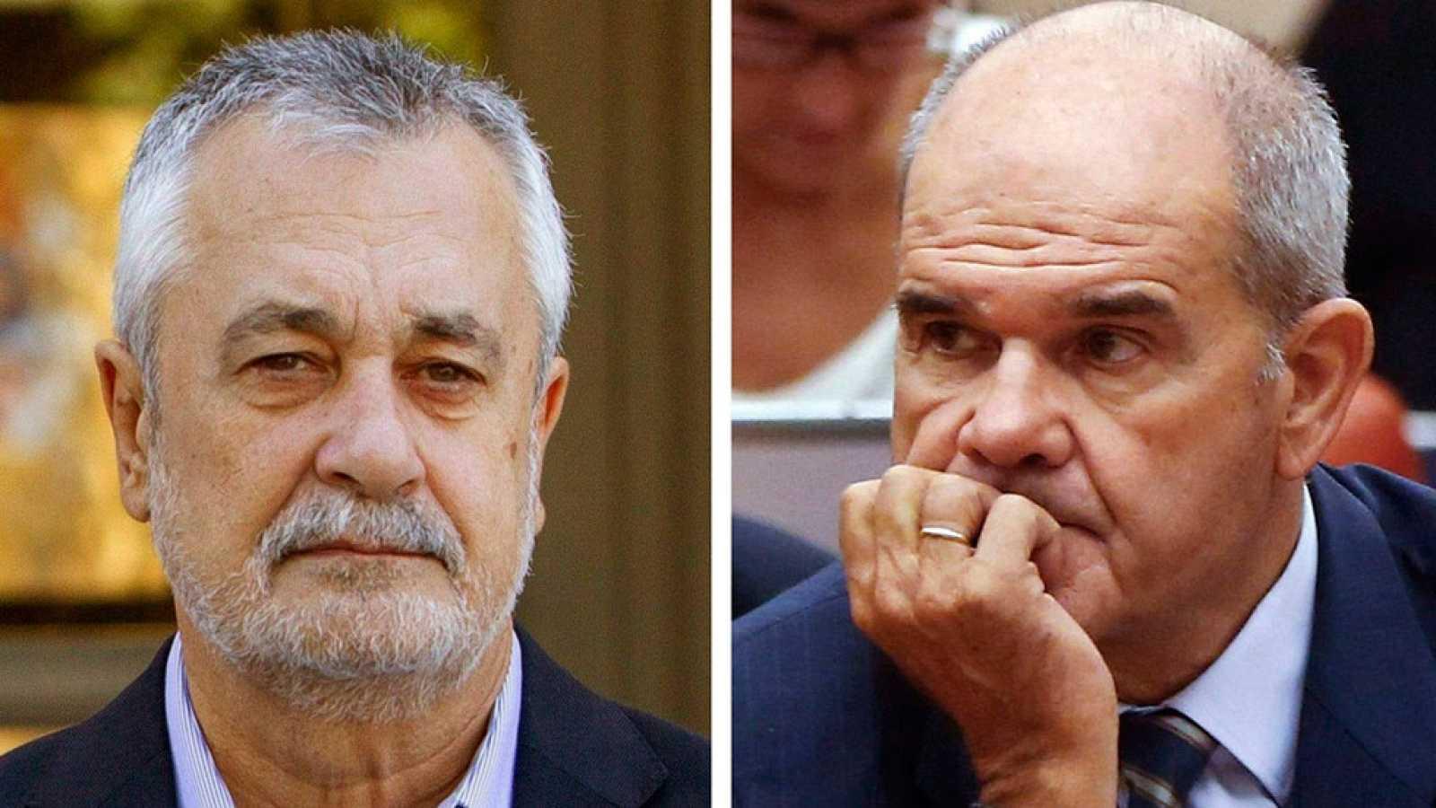 El juez abre juicio oral contra los expresidentes Manuel Chaves y José Antonio Griñán