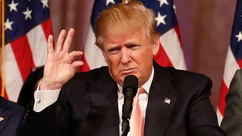 Donald Trump tomará posesión del cargo a partir de enero