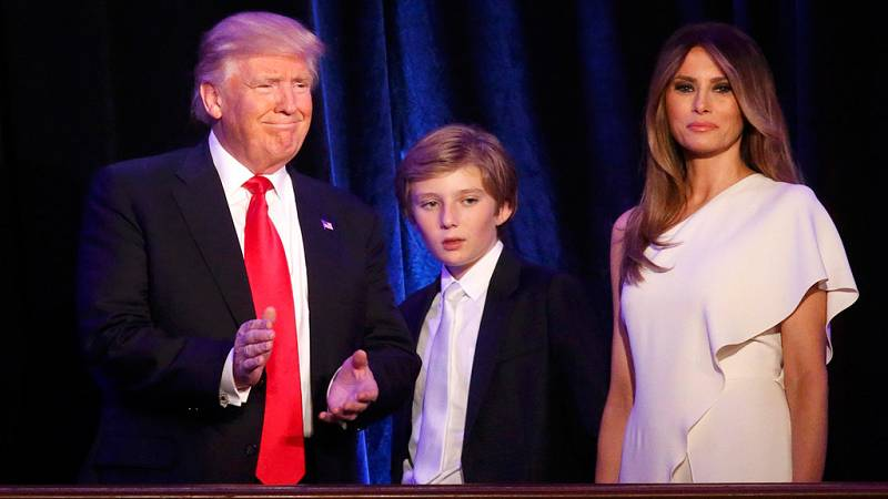 Melania Trump, la primera dama nacida fuera de Estados Unidos