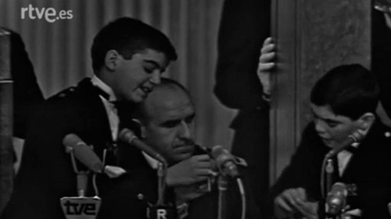Primera retransmisión del sorteo extraordinario de Navidad (1966)