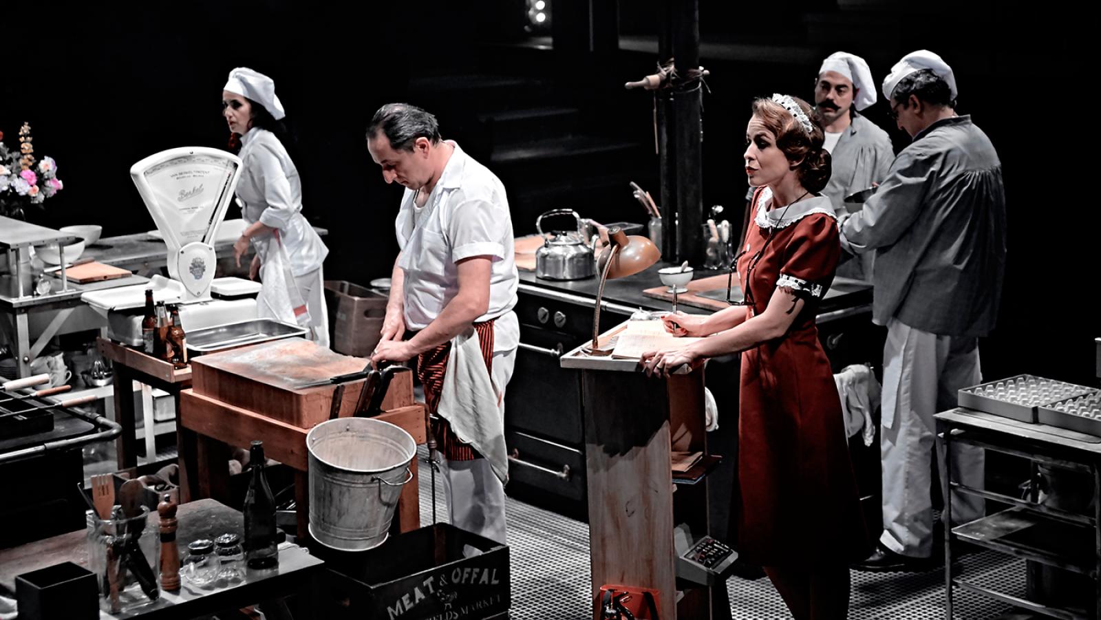 'La Cocina', teatro en 360º con 26 actores en escena
