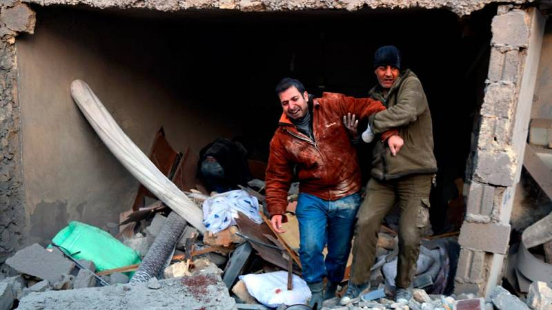 Un millón de sirios vivien sitiados por la guerra