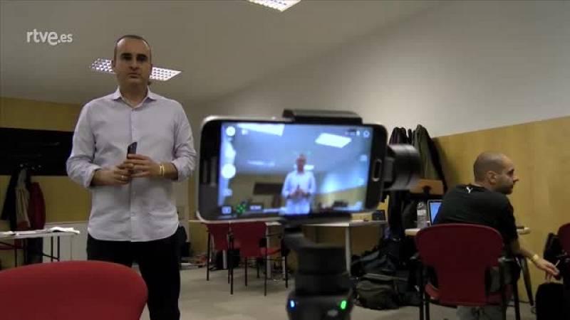 Experiencia piloto periodismo móvil - Cómo se hizo - Gimbal DJI Osmo Mobile