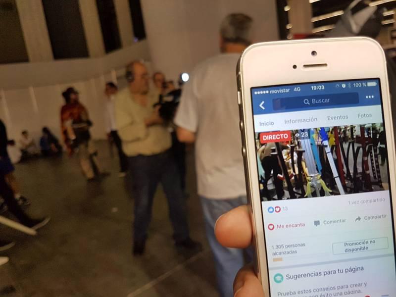 Experiencia piloto de periodismo móvil en el Salón Manga