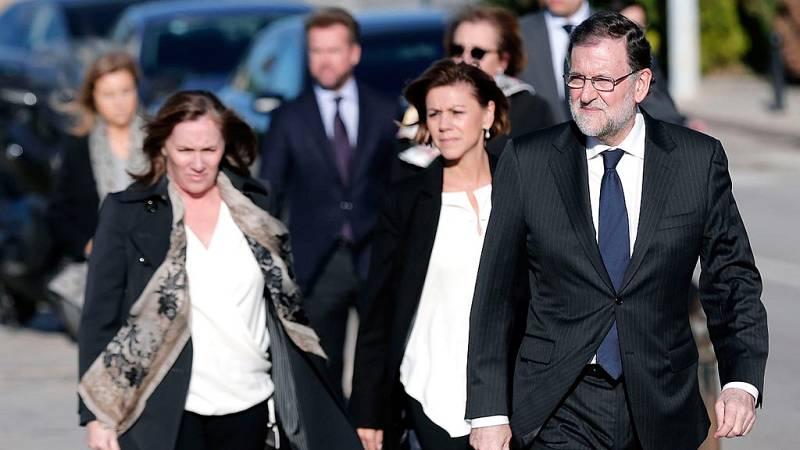 """Rajoy: Fue un """"enorme honor"""" ser amigo de la """"generosa, afable y luchadora"""" Rita Barberá"""
