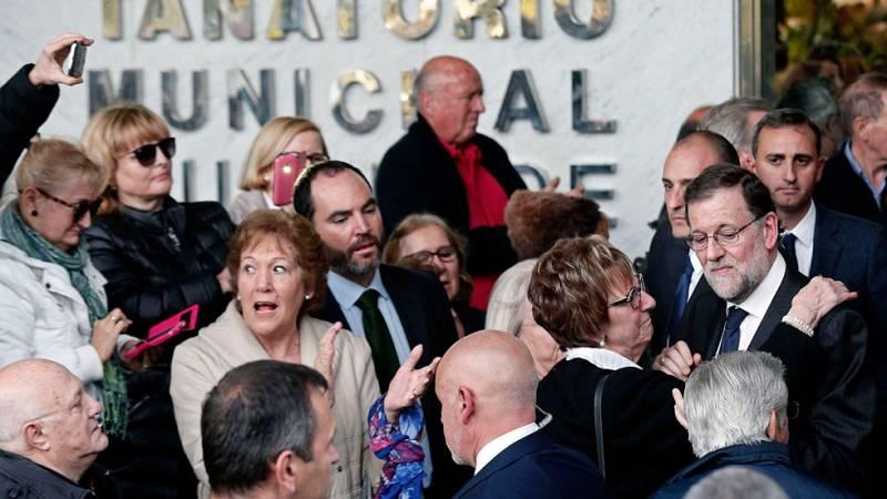 Amigos y familiares despiden a Rita Barberá en un multitudinario funeral