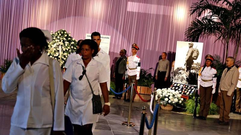 Comienzan las honras fúnebres de Fidel Castro en La Habana
