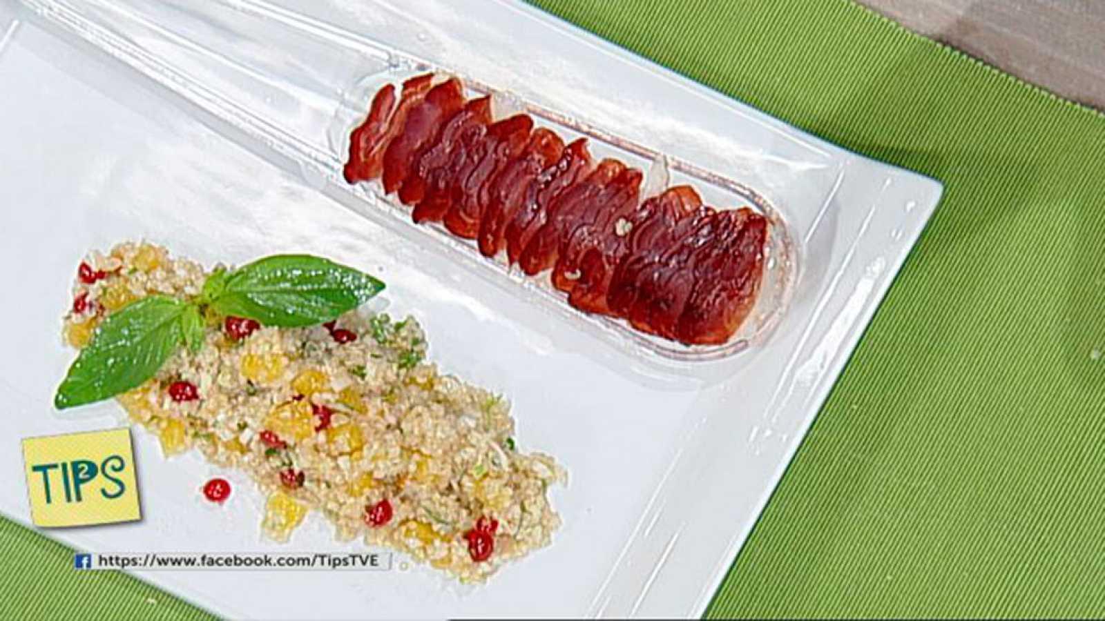 TIPS - Cocina - Ensalada de quinoa con naranja