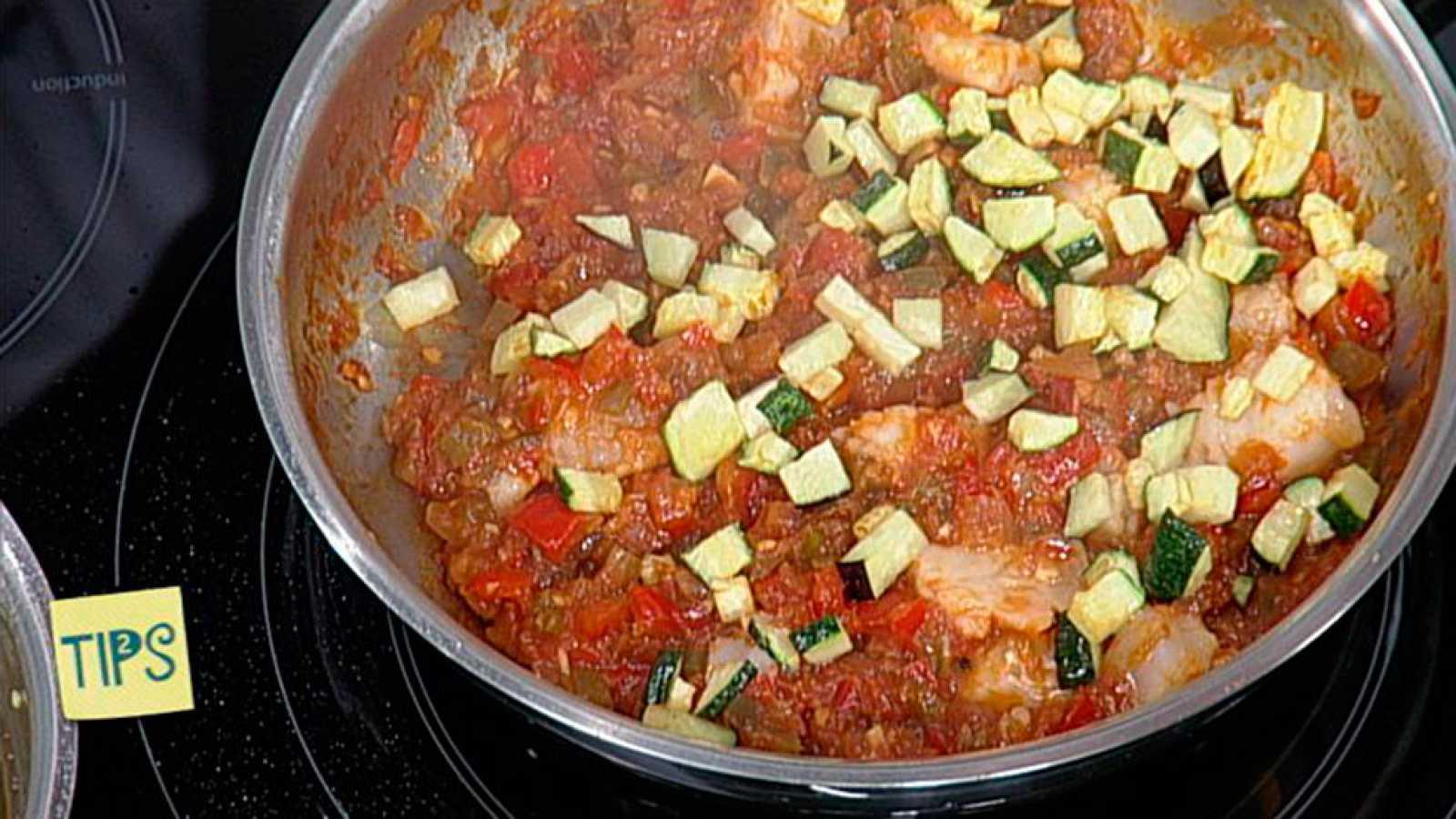 TIPS - Cocina - Sanfaina de bacalao