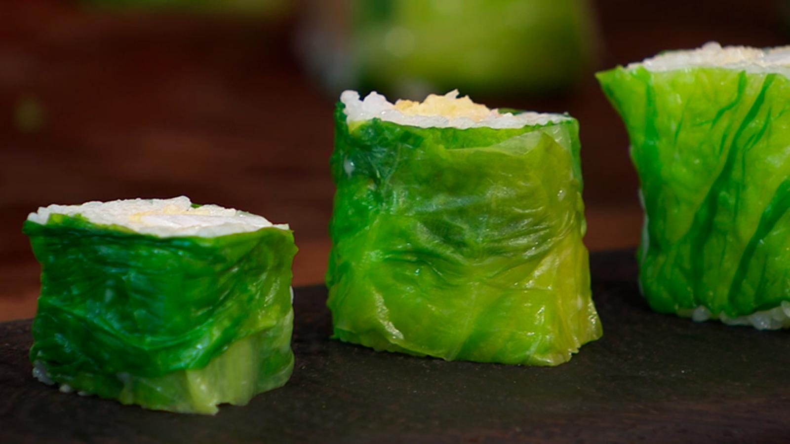 Receta de sushi de calamar frito