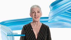 La cantante Ana Torroja felicita a TVE en su 60º aniversario