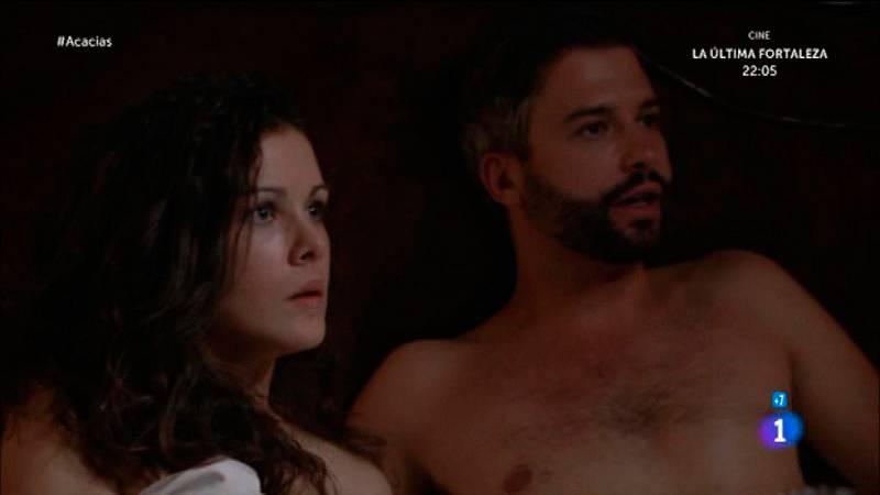 Acacias 38 - Celia sorprende a Felipe y Huertas en la cama