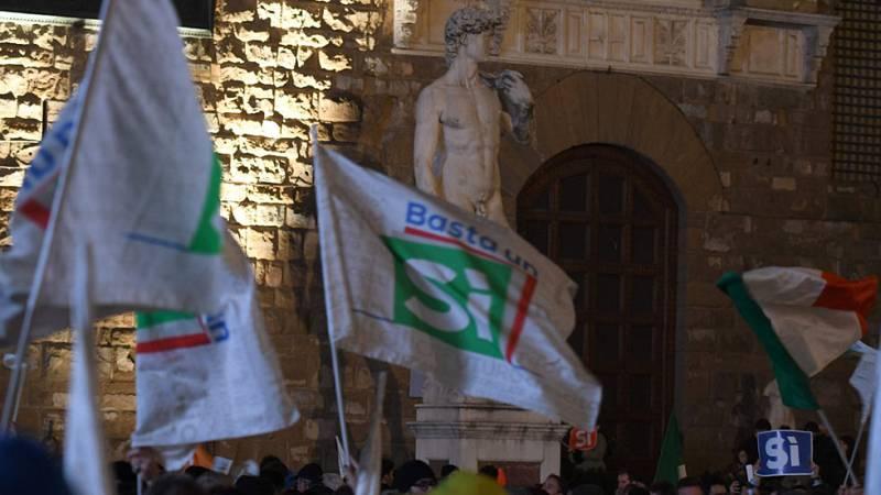 Tensión por supuesto fraude electoral en el referéndum sobre la reforma constitucional en Italia