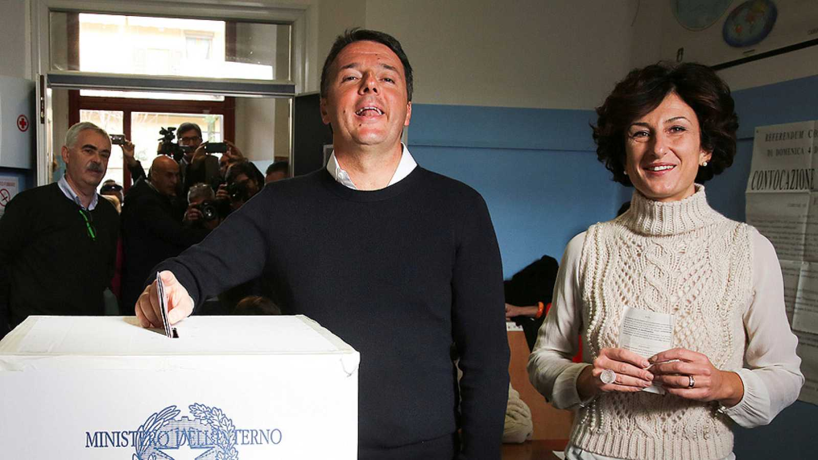 Italia vota en referéndum la reforma constitucional