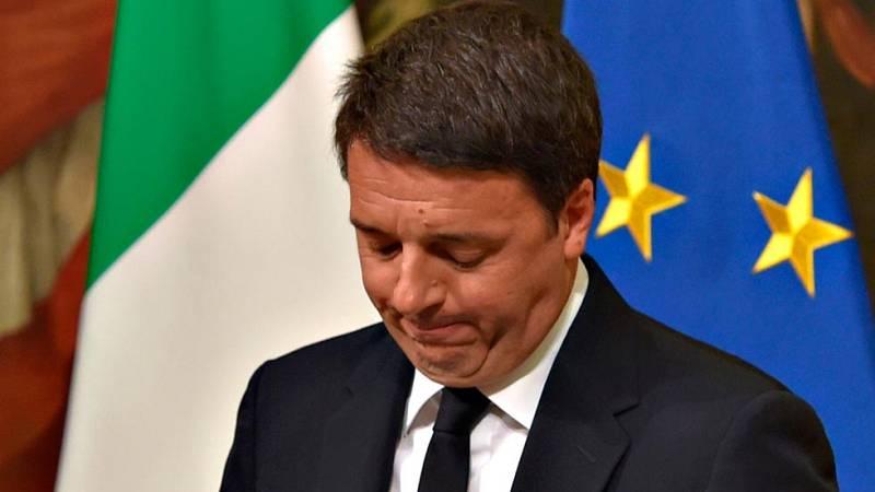 Matteo Renzi dimite como primer ministro de Italia tras el rechazo en referéndum a su reforma constitucional