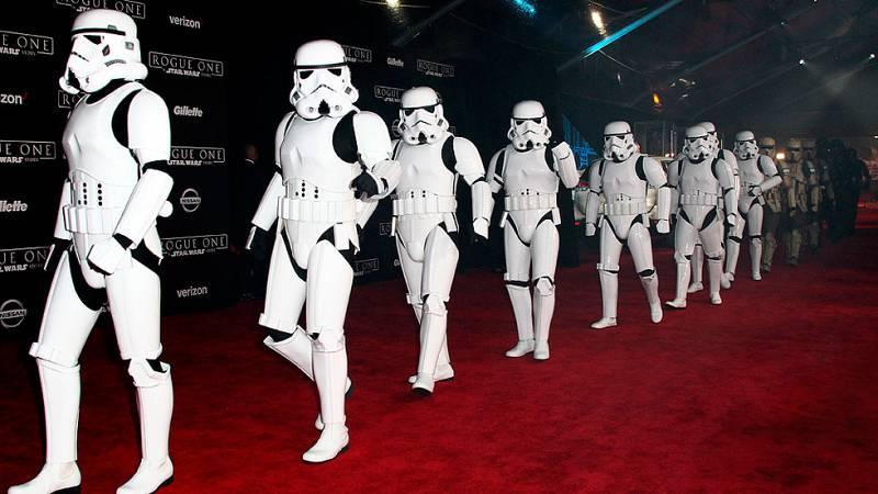 'Rogue one', basada en el universo de 'Star Wars', se estrena en Los Angeles