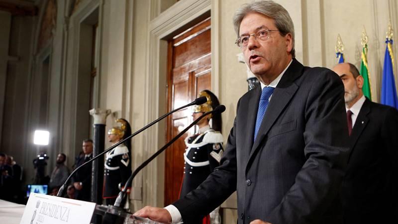 Gentiloni acepta formar un nuevo Gobierno en Italia