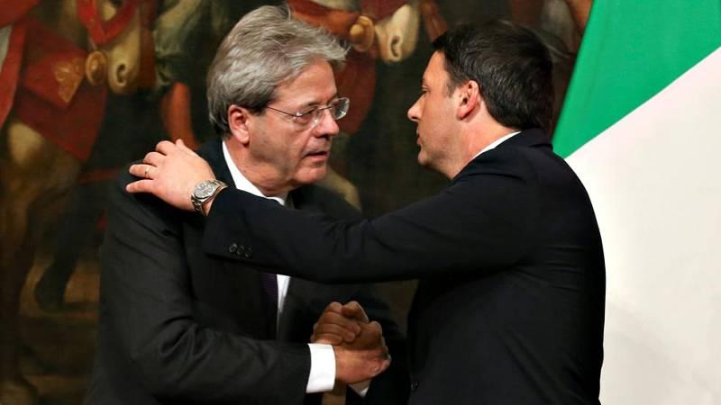 Gentiloni releva a Renzi como primer ministro de Italia