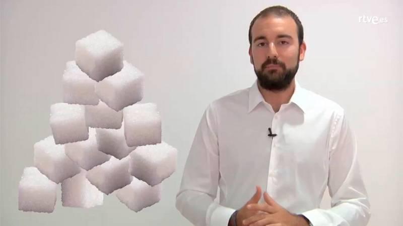 ¿Sabes cuánto azúcar tomas al, día? ¡Cuánto menos azúcar, mejor!