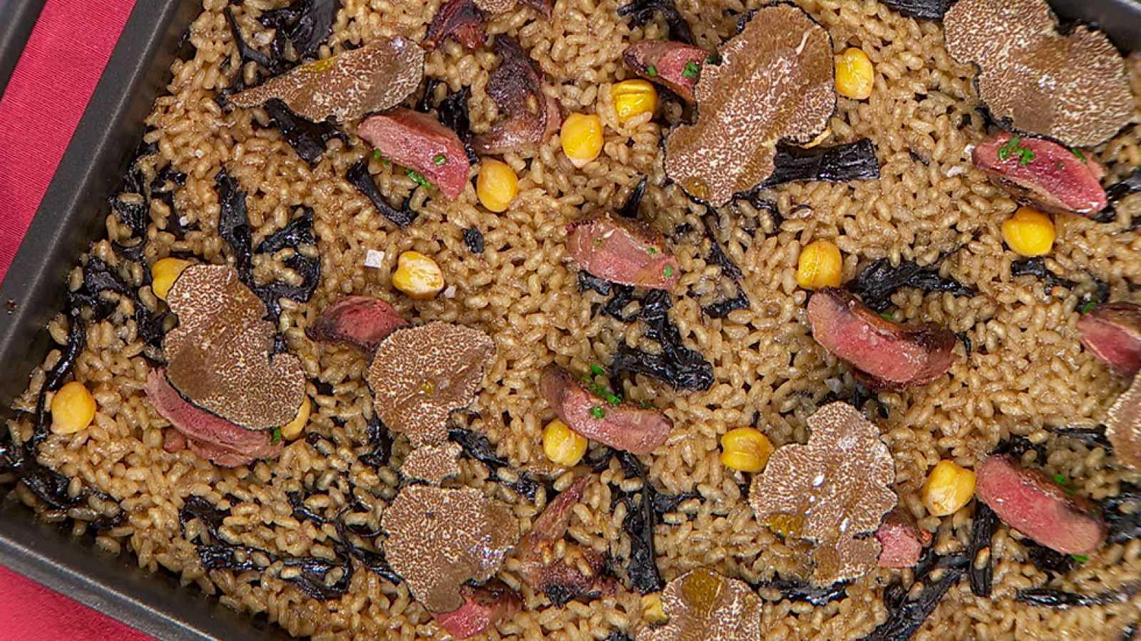 Receta de arroz de tórtolas