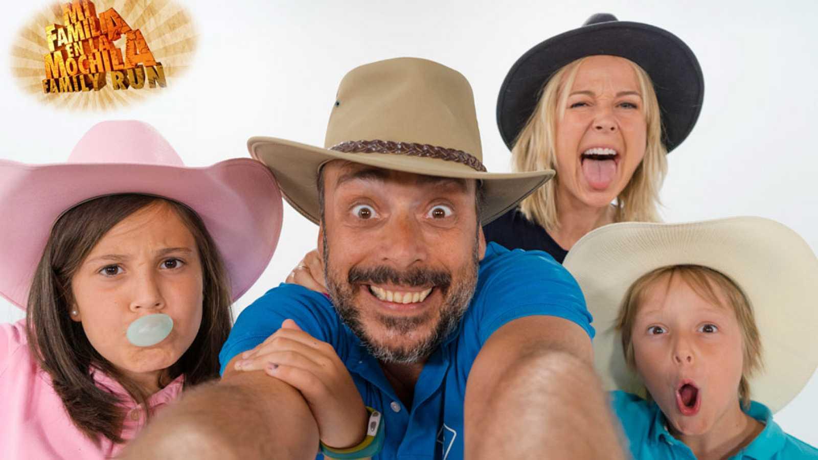 """Ruta del Cowboy con  """"Mi Familia en la Mochila - Family Run"""" - Presentación"""
