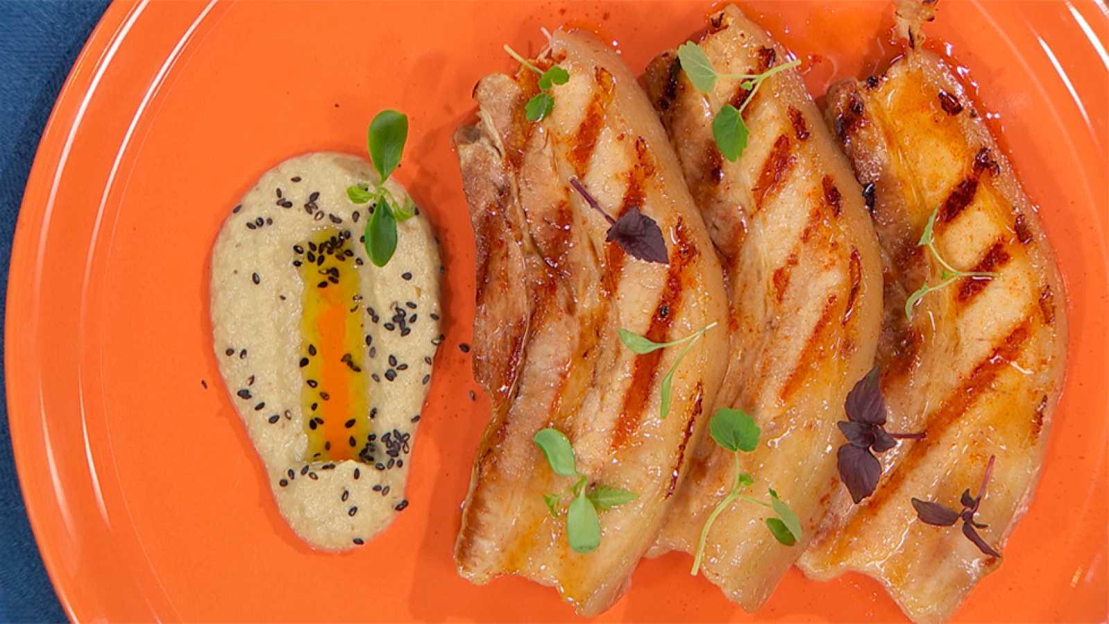 Receta de panceta de cerdo con teriyaki