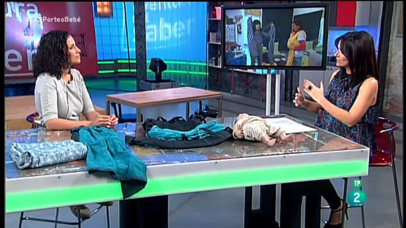 La Aventura del Saber. TVE. Taller de maternidad. Elena López Acuña, asesora de porteo infantil.