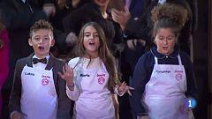 """Telepasión 2016 - Los finalistas de 'Masterchef Junior 3' cantan """"Cocinero"""""""
