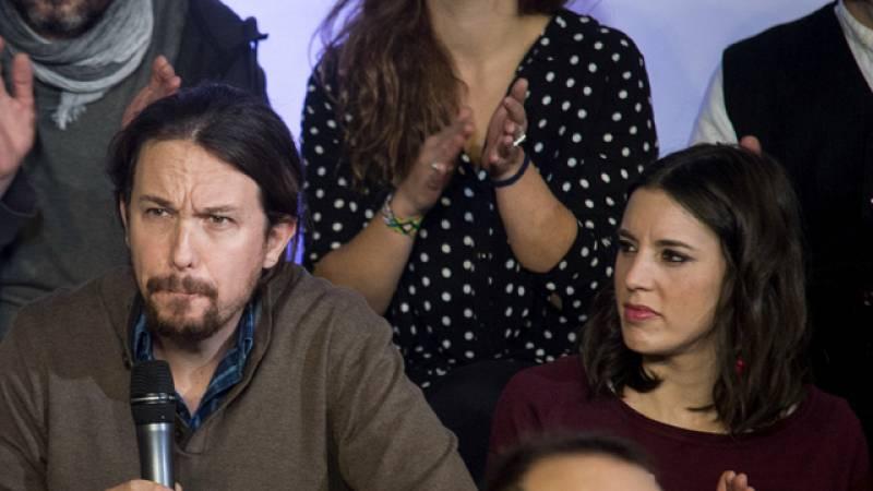 """Irene Montero alerta a los 'errejonistas' del daño de """"alimentar el hostigamiento"""" hacia Iglesias"""