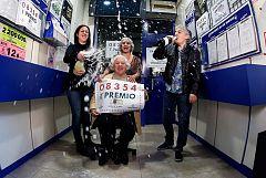 """El 08.354, primer premio del sorteo extraordinario de 'El niño"""", dotado con 200.000 euros al décimo"""