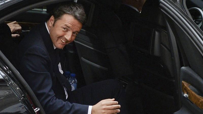 La Policía italiana detiene a dos personas por ciberespionaje a Renzi y Draghi, entre otros