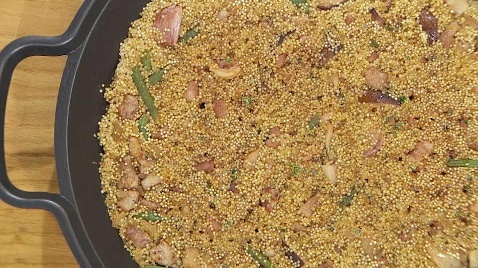 Torres en la cocina - Paella de quinoa