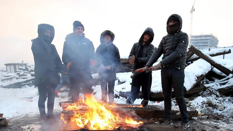 El frío polar deja ya más de un centenar de muertos en Europa