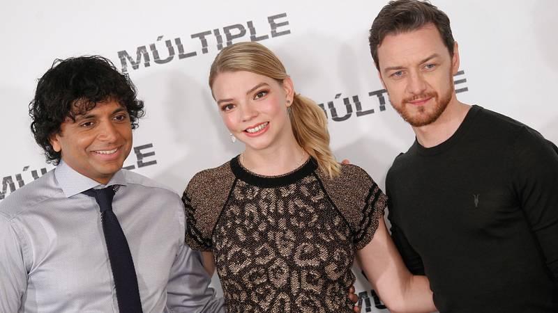 RTVE.es entrevista a M. Night Shyamalan, James McAvoy y Anya Taylor-Joy por 'Múltiple'