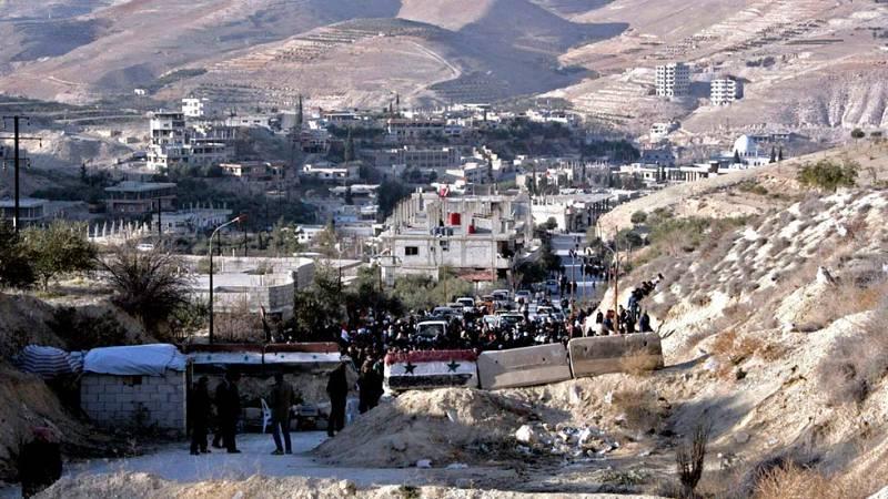 Los combates continúan en las afueras de Damasco pese a la tregua en Siria