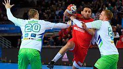 Mundial de balonmano. Túnez, cerca de la victoria ante Eslovenia