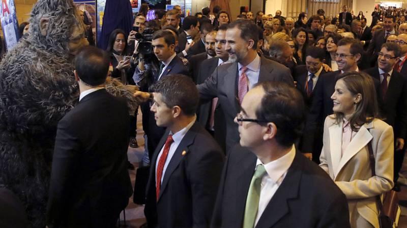 Los Reyes inauguran una nueva edición de FITUR en otro año de récord del turismo