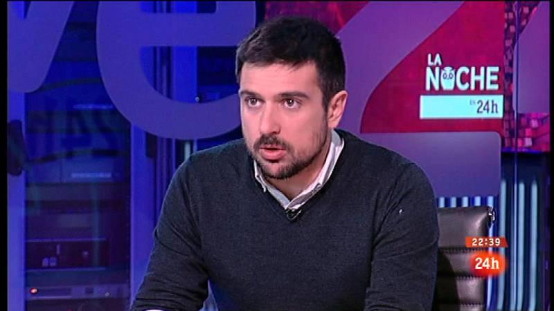 """Ramón Espinar: """"No comparto la valoración de Bescansa pero sí la preocupación de fondo"""""""