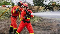 Trabajo Temporal - Vuelve 'Trabajo Temporal' con Bustamante de bombero