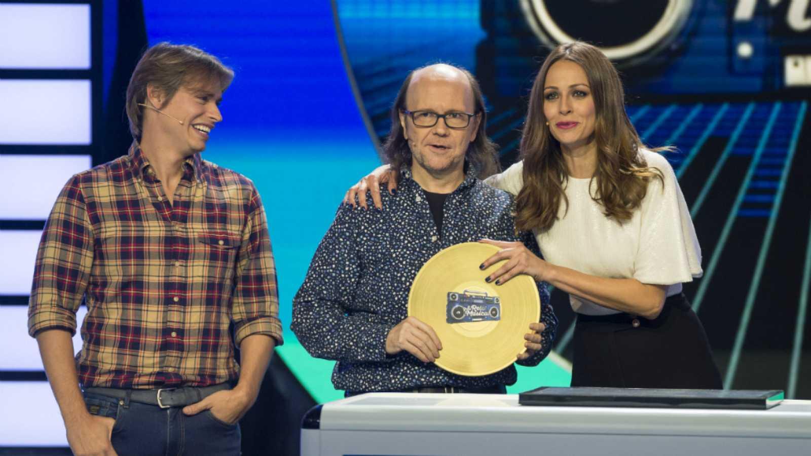 El gran reto musical - Santiago Segura, ganador del primer gran reto musical
