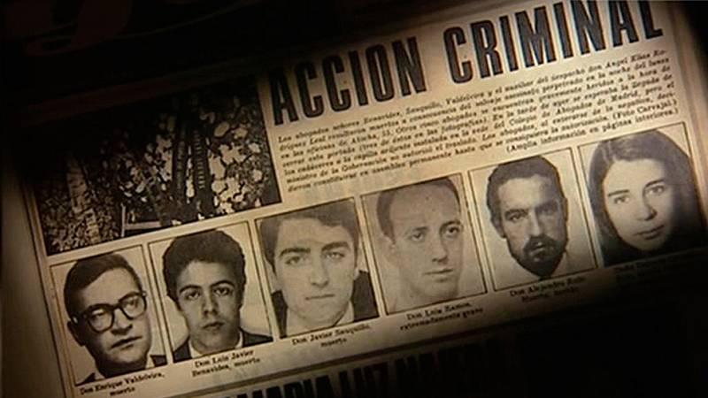 Cuarenta años de la 'matanza de Atocha'