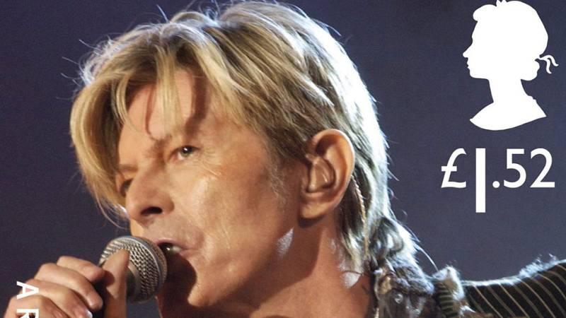 Salen a la venta sellos de David Bowie