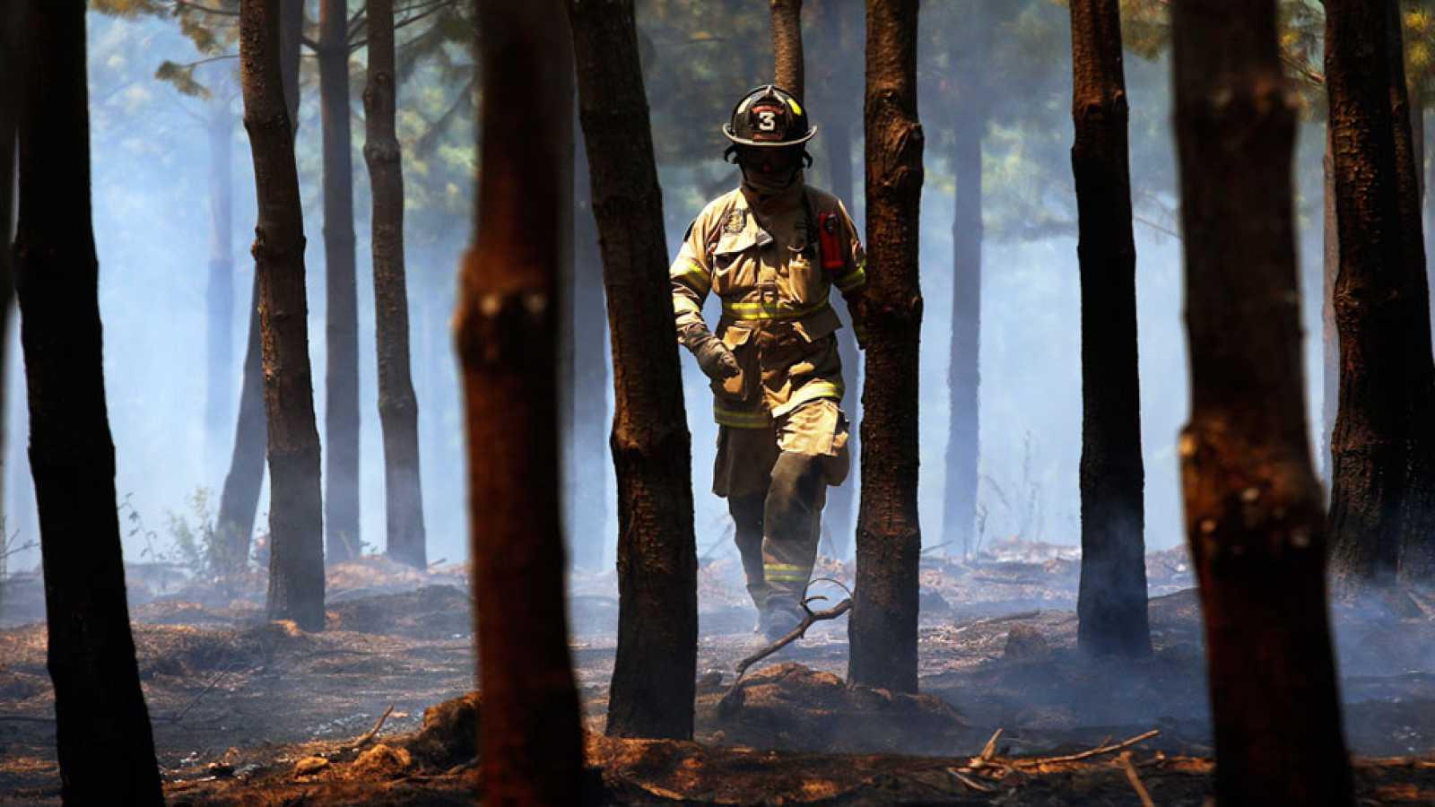 La UME ayuda a luchar contra los incendios en Chile