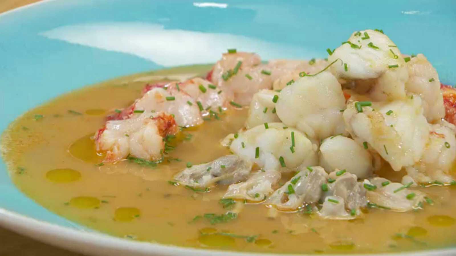 Torres en la cocina - Sopa de pescado