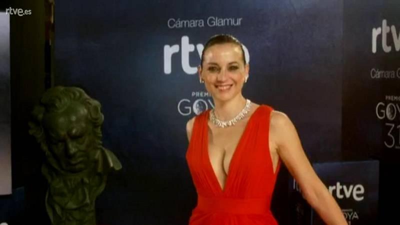 Goyas Golfos 2017 - Leonor Watling en la Cámara Glamur