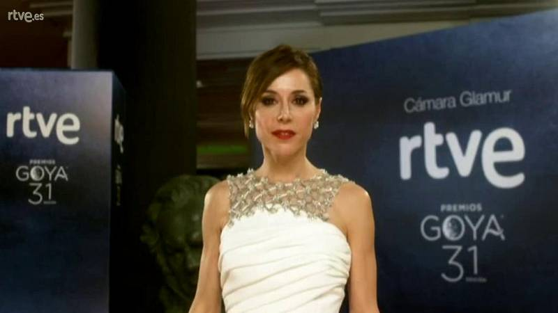 Goyas Golfos 2017 - Ruth Díaz en la Cámara Glamur
