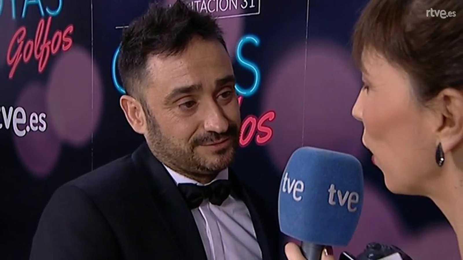 """Goyas Golfos 2017 - Juan Antonio Bayona : """"Es una noche que voy a recordar toda mi vida"""""""