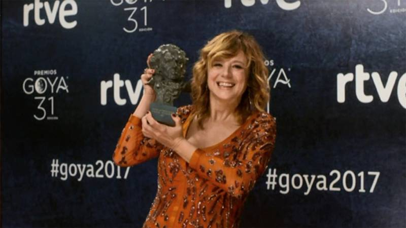 Los ganadores del Goya posan en la Cámara Glamur